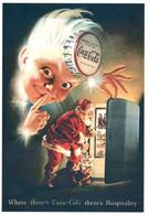 CPM - Illustration PÈRE-NOËL - Publicité Coca-Cola ... - Other