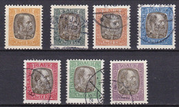 IS527 – ISLANDE – ICELAND – OFFICIAL – 1902 CHRISTIAN IX ISSUE OVERPRINTED – SG # O81/7 USED 54,50 € - Officials