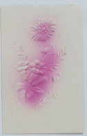 05461 Cartolina - Fiori - A Rilievo - Flowers