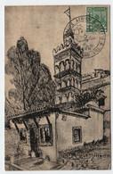 Algérie ALGER  29 Octobre 1951 Rallye Aérien D' Algérie Sur Mosquée Sidi Abderrahman N° Yv 40, CM - Maximum Cards