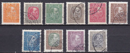 IS008 – ISLANDE – ICELAND – 1902/04 – KING CHRISTIAN IX - SG # 43/52 USED 85 € - Used Stamps