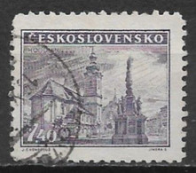Czechoslovakia 1946. Scott #317 (U) Hodonin Square - Used Stamps
