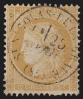 France N°59, Oblitéré Càd Type16 SAINT-NICOLAS-DE-LA-GRAVE Tarn & Garonne - TB - 1871-1875 Ceres