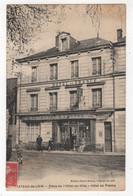 72 - CHATEAU-DU-LOIR - COMMERCE - HÔTEL DE FRANCE -  TERRASSE -  1933 - Chateau Du Loir