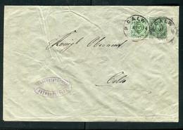 """Wuerttemberg / 1896 / Dienstganzsachenumschlag K1-Stempel """"CALW"""" (5120) - Wuerttemberg"""