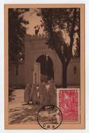 Algérie TLEMCEN  11 Août 1952 Cimetière Arabe N° Yv 122, CM Carte Maximum - Maximum Cards