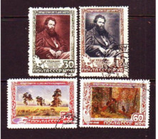 USSR 1948. I. Shishkin. Used. Mi Nr. 1220-23. - Used Stamps