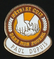 72947- Pin's.Moulin Paul Dupuis . Gournay-en-Bray - Cities