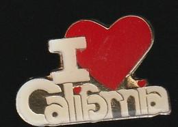 72953- Pin's.i Love California.Californie.USA - Cities