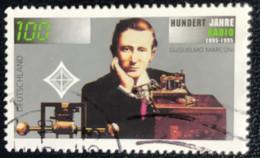 Deutschland - C2/40 - (°)used - 1995 - Michel 1803 - 100j Radio - Gebraucht
