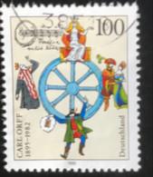 Deutschland - C2/40 - (°)used - 1995 - Michel 1806 - Carl Orff - Gebraucht
