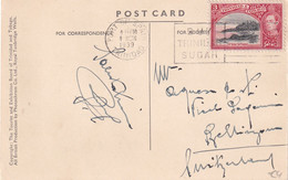 TRINITA ET TOBAGO 1939 CARTE POSTALE  DE PORT OF SPAIN - Trinidad & Tobago (...-1961)