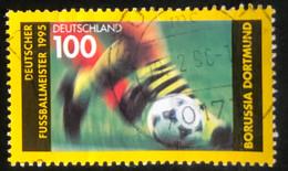 Deutschland - C2/40 - (°)used - 1995 - Michel 1833 - Voetbalkampioen Borrussia Dortmund - Gebraucht