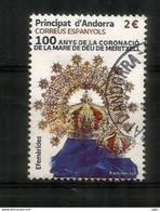 100 Años De La Coronación De La Madre De Dios De Meritxell 2021, Usado 1ª Calidad (alto Valor Nominal) - Used Stamps