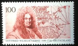 Deutschland - C2/40 - (°)used - 1996 - Michel 1865 - Gottfried Wilhelm Leibniz - Gebraucht