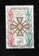 France: N°1452 Oblit;Croix De Guerre - Gebraucht