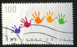 Deutschland - C2/40 - (°)used - 1996 - Michel 1869 - 50j UNICEF - Gebraucht