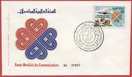 MAROC 1983 FDC Enveloppe Oblitération 1er JOUR Y&T N° 960 - Marokko (1956-...)