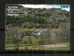 Paisatges.- 2021. Borda De L'Any De La Part.Pueblo De Ordino.Haute Faciale., Oblitéré 1 ère Qualité. - Gebraucht