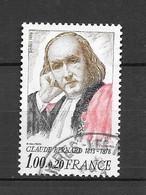 France: N°2518 Oblit; Claude Bernard - Gebraucht