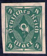 4 Mark Dunkelgrün - DR Nr. 226 U - Postfrisch - Signiert HV - Kabinett - Unused Stamps