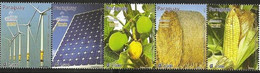 Paraguay 2012, Alternative Energy Ressources, MNH Stamps Strip - Paraguay