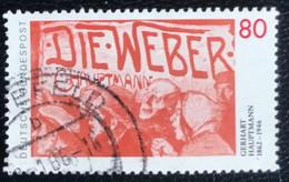 Deutsche Bundespost - C2/40 - (°)used - 1987 - Michel 1344 - Gerhart Hauptmann - Gebraucht