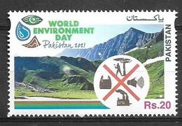 PAKISTAN 2021 STAMPS WORLD ENVIRONMENT DAY MNH - Pakistan
