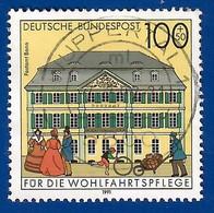 BRD  1991  Mi.Nr. 1567 , Postamt Bonn - Historische Posthäuser In Deutschland - Gestempelt / Fine Used / (o) - Gebraucht