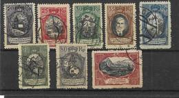 Liechtenstein - Selt./gest. Bessere Serie Aus 1921 - Michel 53/60! - Gebraucht