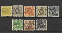 Liechtenstein - Selt./gest. Bessere Serie Aus 1921 - Michel 45/52! - Gebraucht