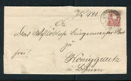 """Deutsches Reich / 1887 / Brief K1-Stempel """"KREUZBURG (OBERSCHLESIEN) (5137) - Briefe U. Dokumente"""