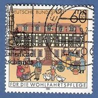 BRD  1991  Mi.Nr. 1564 , Poststation Büdingen - Historische Posthäuser In Deutschland - Gestempelt / Fine Used / (o) - Gebraucht