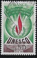 FRANCE  UNESCO Déclaration Universelle Des Droits De L'homme   N°43  Année 1975 - Gebraucht