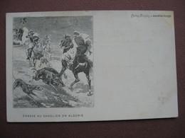 CPA ILLUSTRATEUR GRAVURE Journal Des Voyages VINTRAUT Tinavre CHASSE AU SANGLIER EN ALGERIE - Hunting