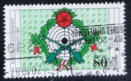 Deutsche Bundespost - C2/40 - (°)used - 1987 - Michel 1330 - Europees Schutterstornooi - Gebraucht