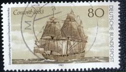 Deutsche Bundespost - C2/40 - (°)used - 1983 - Michel 1180 - Emigratie Naar Amerika - Gebraucht