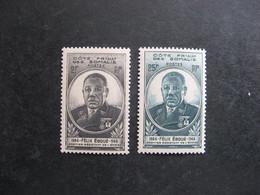 Cote Des Somalis: TB Paire N° 262 Et  N° 263, Neufs X. - Unused Stamps