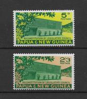 PAPUA NEW GUINEA * 1961 * Complete Set 2 Stamps * MNH** Constitution - Mi.No 27-28 - Papua New Guinea