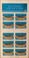 France 2002 : Bande-carnet Pour Vacances N° BC3494A Oblitéré - Gedenkmarken
