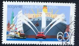Deutsche Bundespost - C2/40 - (°)used - 1989 - Michel 1419 - Hamburg - Haven 1189-1989 - Gebraucht