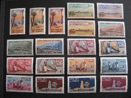 C). Cote Des Somalis: TB Série  N°264 Au N° 282, Neufs X. - Unused Stamps
