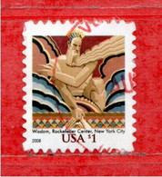 (Us.2) Stati Uniti ° - 2008 - Sculpture.  Yv. 4105.   Used. - Gebraucht