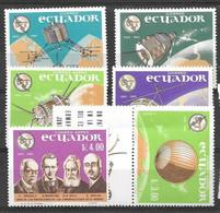 Ecuador Mnh ** Complete Set 6.5 Euros UIT ITU 1965 Space Espace Weltraum - Ecuador
