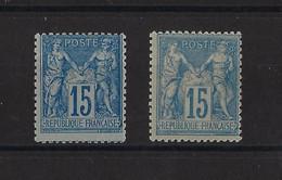 FRANCE. YT   N° 90  Neuf *   1978 - 1876-1898 Sage (Type II)