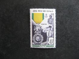 A). Cote Des Somalis: TB N° 284, Neuf X. - Unused Stamps