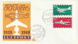Mi. 576/577 FDC - FDC: Briefe