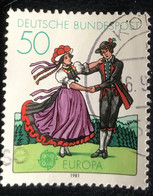 Deutsche Bundespost - C2/41 - (°)used - 1981 - Michel 1096 - Europa - Folklore - Gebraucht