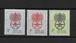 PAPUA NEW GUINEA * 1962 * Complete Set 3 Stamps * MNH** Anti Malaria - Mi.No 40-42 - Papua New Guinea