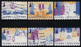 2019 Finland, Moomins, Complete Used Set. - Gebraucht